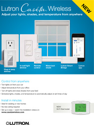 Lutron Caseta: Wireless Home Automation