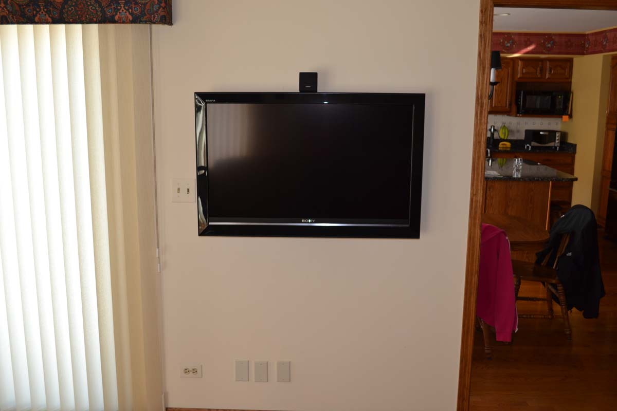 TV Wall-Mount Installation